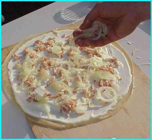 tarte flamb 233 e alsacienne la recette culinaire et gastronomique en photos 233 par 233
