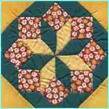La technique du patchwork un assemblage de pi ces de tissus - Modeles patchwork pour debutant ...