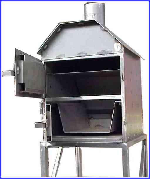 fabriquer un four a tarte flamb e chauff au feu de bois. Black Bedroom Furniture Sets. Home Design Ideas